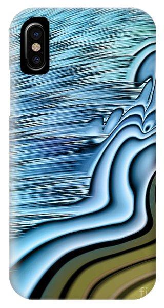 Tidal Waves iPhone Case - Ebb Tide by John Edwards
