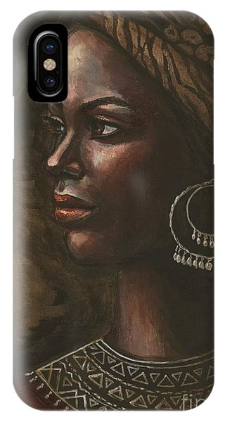 Ebony IPhone Case