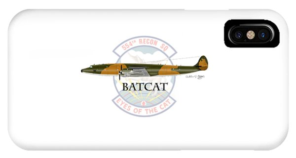 Ec-121r Batcat IPhone Case
