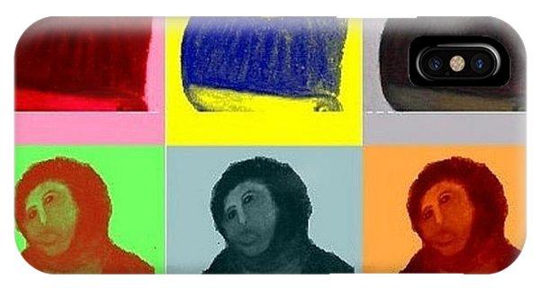 Ecce iPhone Case - Ecce Homo - Warhol Style by S Martin