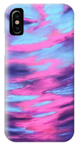 IPhone Case featuring the painting Eccentric Sky by Anastasiya Malakhova