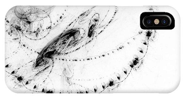 Fractal iPhone Case - Echo 3 by Scott Norris