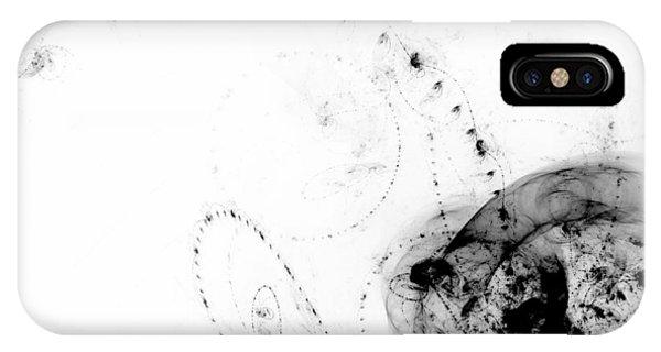 Fractal iPhone Case - Echo 4 by Scott Norris