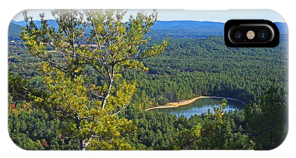 Echo Lake From Cathedral Ledge Bartlett New Hampshire IPhone Case