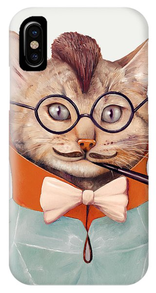 Animal iPhone Case - Eclectic Cat by Animal Crew
