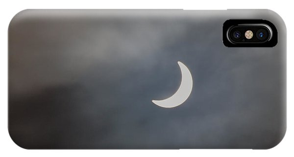 IPhone Case featuring the photograph Eclipse 2015 - 2 by Jeremy Hayden