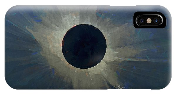 Eclipse 2017 IPhone Case