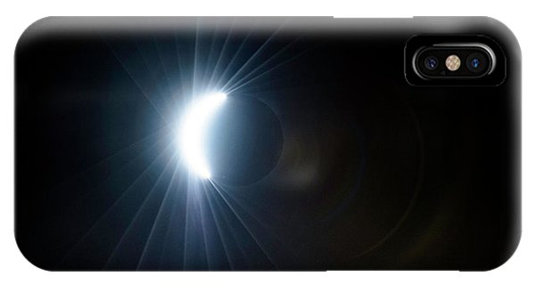 Eclipse Before Totality IPhone Case