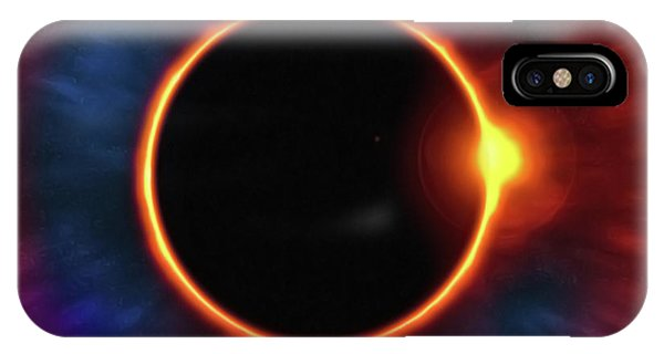 iPhone Case - Eclipse by Harry Warrick