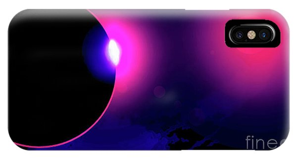 Eclipse Of 2017 IPhone Case