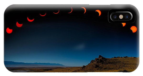 Eclipse Pano IPhone Case
