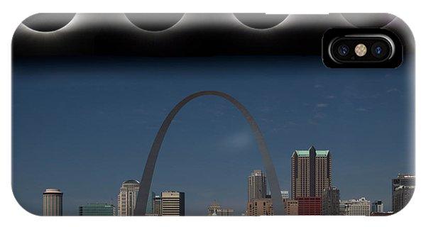Eclipse - St Louis Skyline IPhone Case