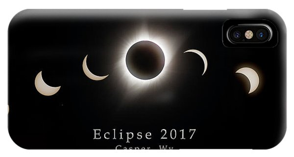 IPhone Case featuring the photograph Solar Eclipse Collage 1 by Rikk Flohr