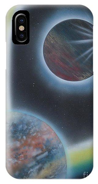 Eclipsing IPhone Case