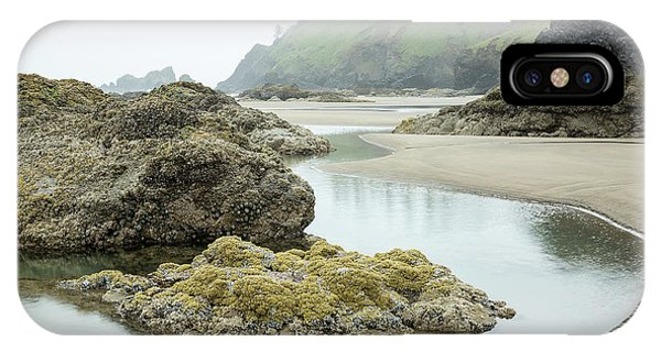 IPhone Case featuring the photograph Ecola Tidepool by Tim Newton