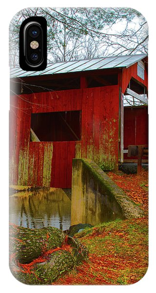 Ecther Covered Bridge Near Catawissa, Pa IPhone Case