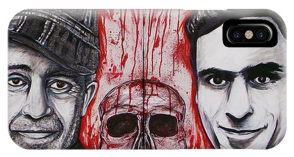 Ted Bundy iPhone Case - Ed And Ted by Sam Hane