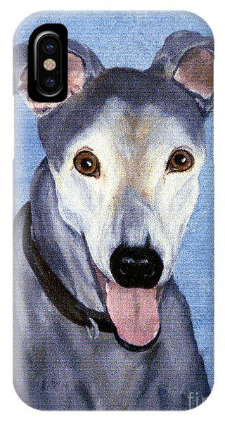 Eddie - Greyhound IPhone Case