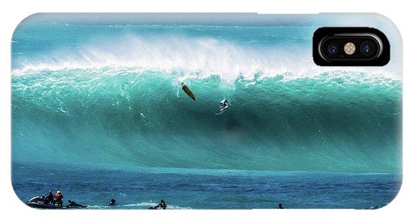Jet Ski iPhone X Case - Eddie Aikau by James Roemmling
