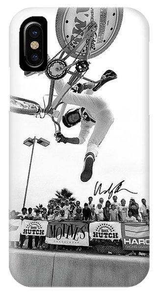 Eddie Fiola Freestylin' Cover 1986 IPhone Case