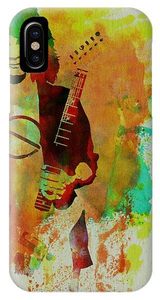 Van Halen iPhone Case - Eddie Van Halen by Naxart Studio