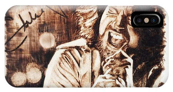 Pearl Jam iPhone Case - Eddie Vedder by Lance Gebhardt