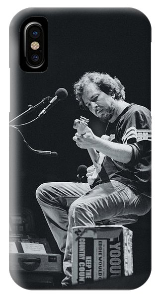 Eddie Vedder Playing Live IPhone Case