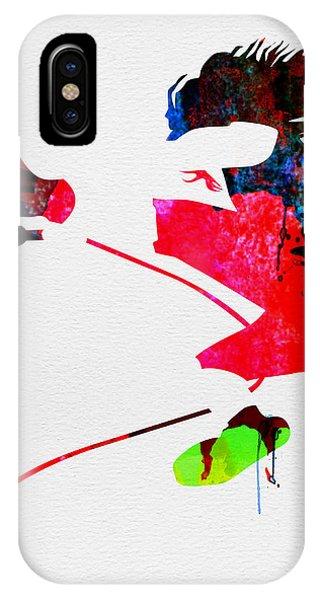 Eddie Watercolor IPhone Case