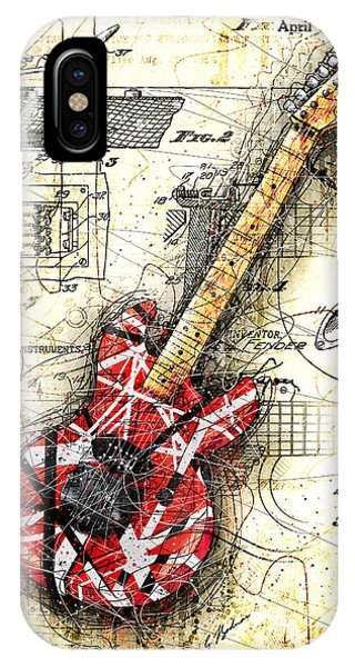 Eddie's Guitar II IPhone Case