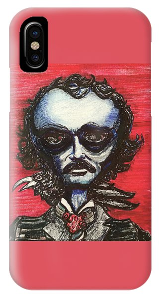 Edgar Alien Poe IPhone Case