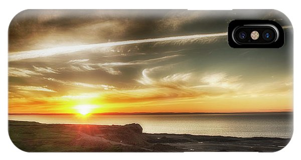 Edge Of The Earth IPhone Case