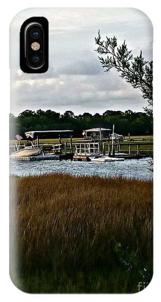 iPhone Case - Edge Of The Park by Lisa Marie Towne