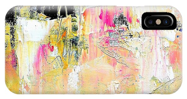 IPhone Case featuring the painting Edge by VIVA Anderson