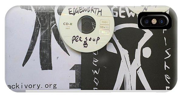 Edgeworth Pee Soup Album Cover Design IPhone Case