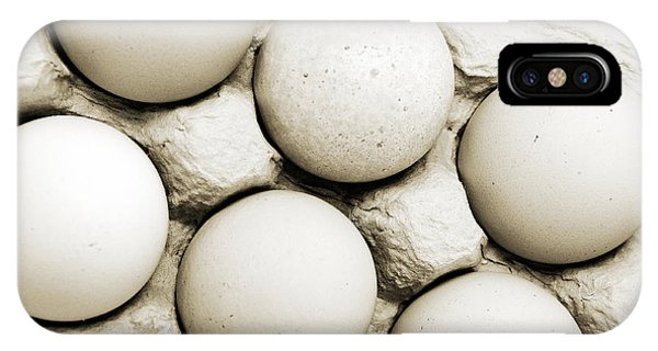 Edgy Farm Fresh Eggs IPhone Case