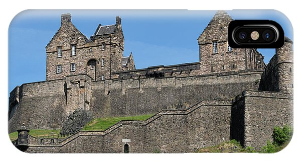 IPhone Case featuring the photograph Edinburgh Castle by Jeremy Lavender Photography