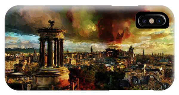 Edinburgh Scotland 01 IPhone Case