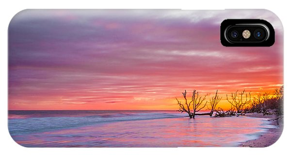 Edisto Beach Sunset IPhone Case