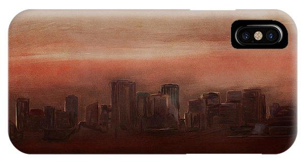 Edmonton At Sunset IPhone Case