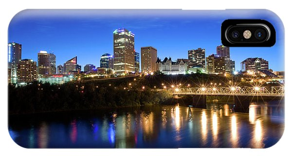 Edmonton Skyline IPhone Case