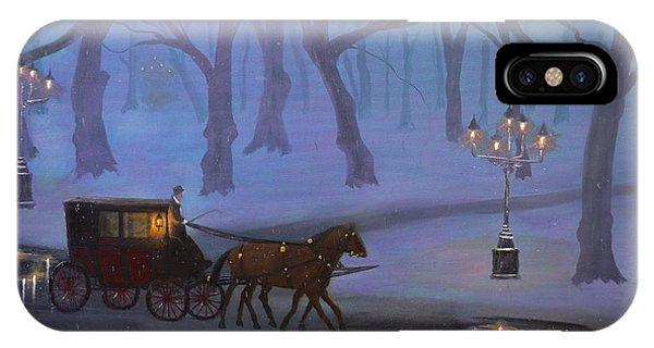 Eerie Evening IPhone Case