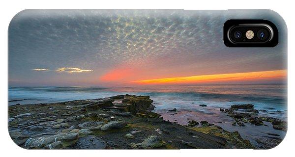 Eerie Sunset La Jolla Cove San Diego IPhone Case
