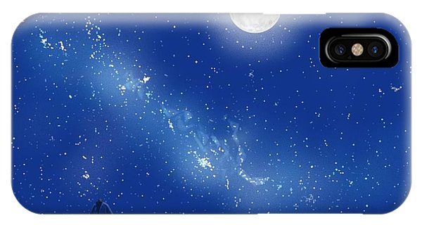 Amber iPhone Case - Eeyore A Lonely Night by Amber Stanford