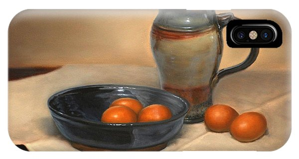 Eggs And Pitcher IPhone Case