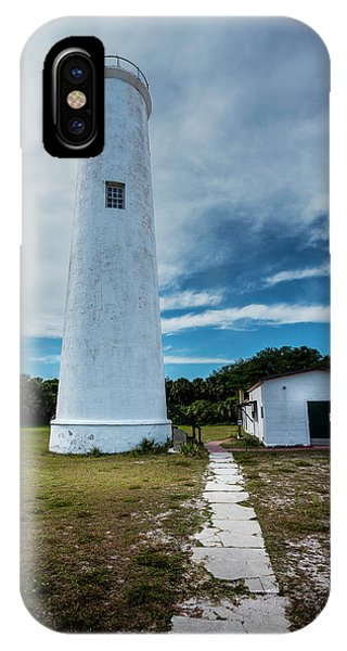 Navigation iPhone Case - Egmont Lighthouse by Marvin Spates