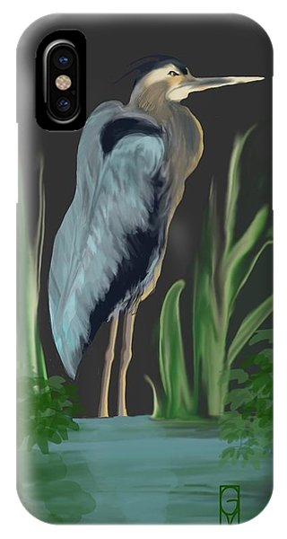 Egret I IPhone Case