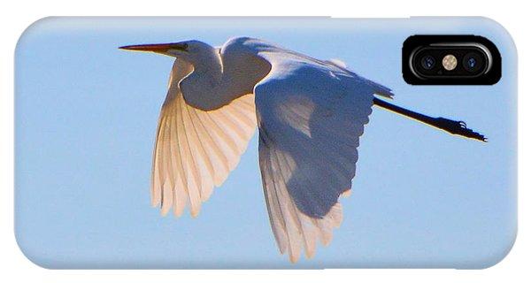 Egret In Silhouette IPhone Case