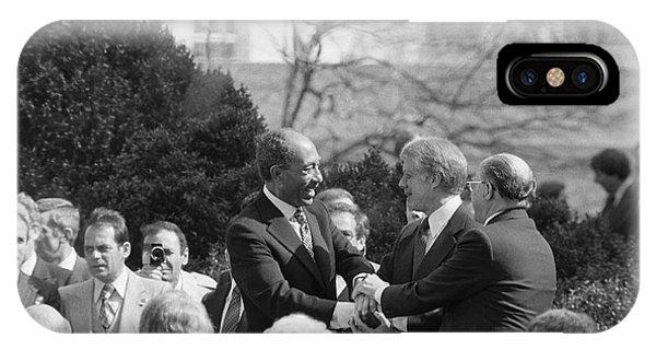 Egypt Israel Peace Treaty IPhone Case