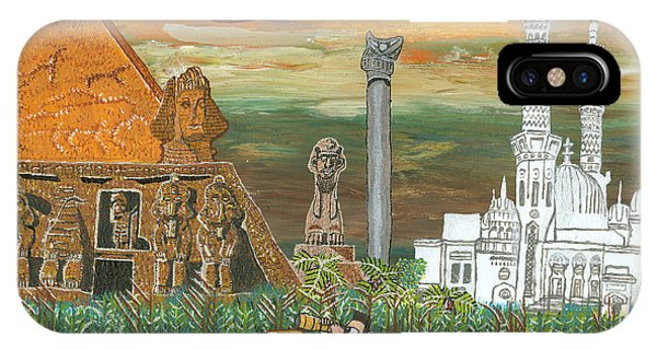 Egypt   Jan IPhone Case