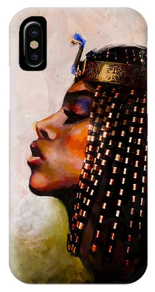 Pharaoh iPhone Case - Egyptian Culture 39b by Maryam Mughal